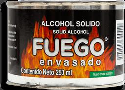 Alcohol Fuego Envasado Sólido 250 mL