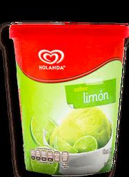 Nieve Holanda Sabor Limón 1 L