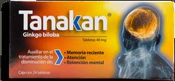 Tanakan 24 Tabletas (40 mg)