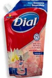 Jabón Dial Líquido Para Manos Sales Rosadas 450 mL