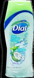 Jabón Corporal Líquido Dial Agua de Coco 354 mL