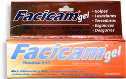 Facicam Gel 40 g (5 mg)