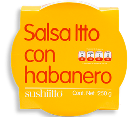 Salsa Itto Con Habanero 250 g