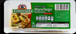 Queso Manchego Esmeralda Molletero Rebanado 400 g