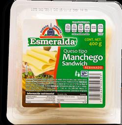 Queso Manchego Esmeralda en Rebanadas 400 g