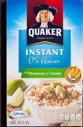 Avena Quaker Con Manzana Canela 35 g x 8