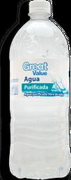 Agua Great Value Natural Botella 1 L
