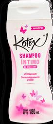Jabón íntimo Kotex  Shampoo  Envase 180 mL