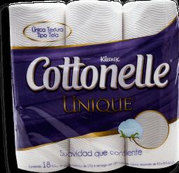 Papel Higiénico Kleenex Cottonelle Unique Empaque 18 U