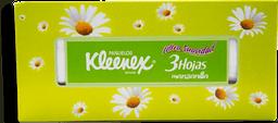 Pañuelos Kleenex Desechables Manzanilla Triple Hoja 100 U