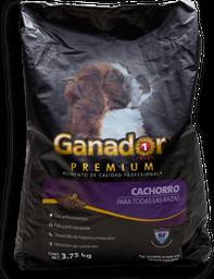 Alimento Para Perro Ganador Premium Cachorro 3.75 Kg