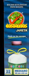 Bolsas Para Basura Costalitos Mediano Colores Caja 22 U