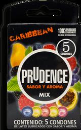 Preservativo Prudence Caribbean 5 U