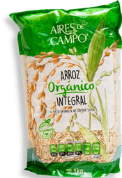 Arroz Aires de Campo Orgánico Integral 1 Kg