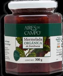 Mermelada Aires de Campo de Frambuesa Orgánica 300 g