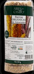Barras de Amaranto Orgánicas Aires de Campo 150 g