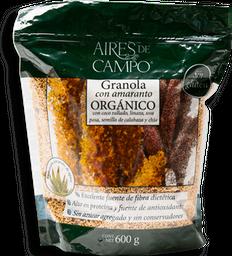 Granola Aires de Campo Con Amaranto Orgánico 600 g
