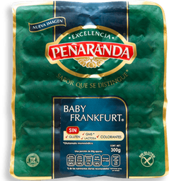 Salchicha Peñaranda Baby Frankfurt 300 g