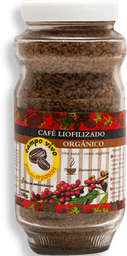 Café Liofilizado Campo Vivo Orgánico 100 g
