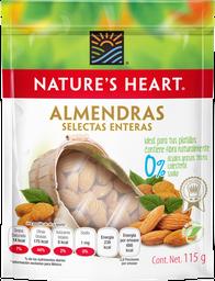 Almendras Nature's Heart Selectas Enteras 115 g