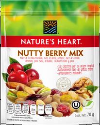 Botana Natures Heart Nutty Berry Mix 70 g