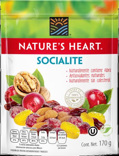 Fruta Deshidratada y Nueces Socialite Nature's Heart 170 g