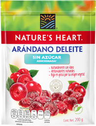 Arándano Nature's Heart Sin Azúcar 200 g