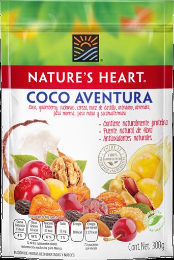 Fruta Seca Nature's Heart Coco Aventura 300 g
