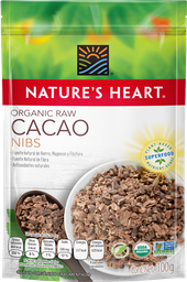 Cacao Nature's Heart Orgánico Fragmentado 100 g