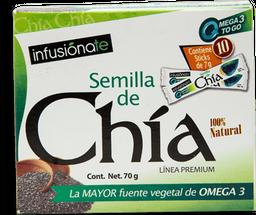 Chía Infusiónate Línea Premium Natural 70 g