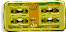 Huevo Blanco Tehuacan 18 U