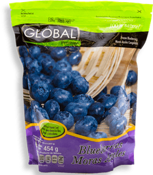 Moras Azules Global Premier Congeladas 454 g