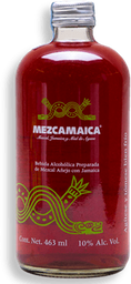 Cooler Mezcamaica Jamaica y Miel de Agave Botella 463 mL