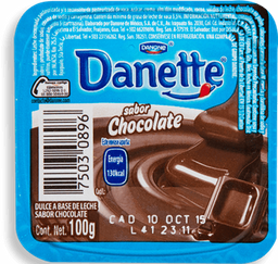 Natilla Danette De Chocolate 100 g