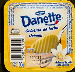 Gelatina Danette de Leche Sabor Vainilla 100 g