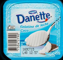 Gelatina De Leche Danette Coco 100 g