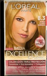 Tinte Excellence 8.3 LOréal Paris