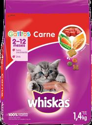 Alimento Para Gato Gatitos Carne 1400 Grs
