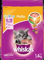 Alimento Para Gato Gatitos Pollo 1400 Grs