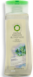 Shampoo Herbal Essences al Desnudo Brillo Hidratante 700 mL