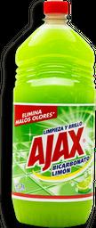 Limpiador Ajax Bicarbonato Limón 1 L