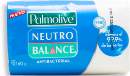 Jabón de Tocador Neutro Balance Antibacterial 160 g