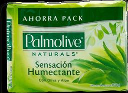 Jabón Palmolive Naturals Sensación Humectante 160 g x 4