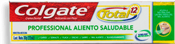 Pasta Dental Colgate Total 12 Aliento Saludable 22 mL