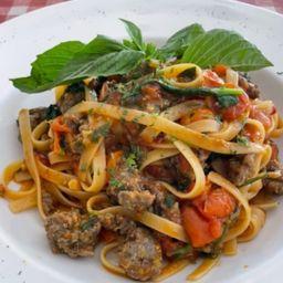 Fetuccine Salciccia Italiana