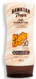 Protector Hawaiian Tropic Silk Hydration 50 FPS en Loción 180 mL