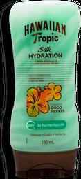 Loción Hawaiian Tropic Hidratante Para Después Del Sol 180 mL