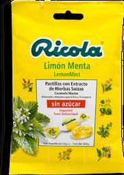 Caramelo Ricola Sin Azúcar Limón Menta 28.8 g