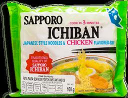 Sopa Instantánea Sapporo Sabor Pollo 100 g