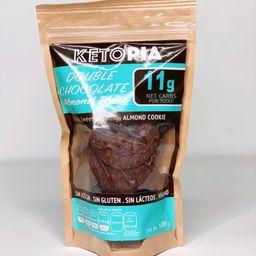 Ketopia Almond Thins Double Chocolate